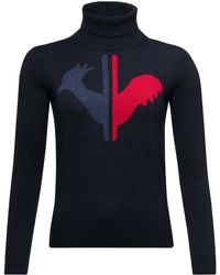 Rossignol - Classique Tailored Fit Merino Wool Ski Sweater - Lyst