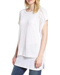 Eileen Fisher - Organic Cotton Sweater - Lyst