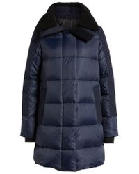 Canada Goose | Altona Water Resistant 750-fill Power Down Parka With Genuine Shearling Collar | Lyst
