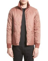Saturdays NYC - Nazar Quilted Bomber Jacket - Lyst