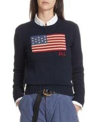 Polo Ralph Lauren - American Flag Jumper - Lyst