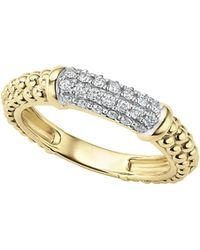 Lagos - Caviar Gold Collection 18k Gold & Diamond Ring - Lyst