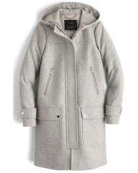 J.Crew | J.crew Wool Melton Duffle Coat | Lyst