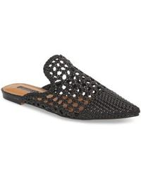 TOPSHOP - Knot Woven Mule - Lyst