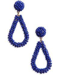 Panacea - Bead Drop Earrings - Lyst