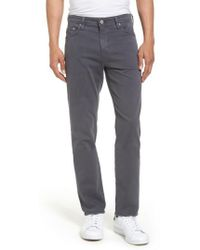 AG Jeans | Jeans Everett Sud Slim Straight Fit Pants | Lyst