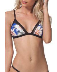 Rip Curl - Hot Shot Triangle Bikini Top - Lyst