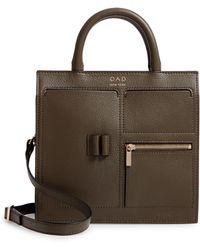 OAD NEW YORK - Mini Kit Leather Satchel - - Lyst