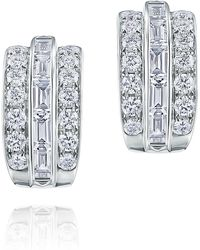 Kwiat - Duet Diamond Earrings - Lyst