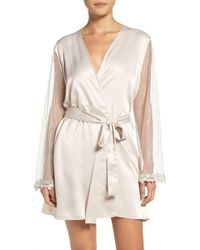 Flora Nikrooz - Showstopper Robe - Lyst