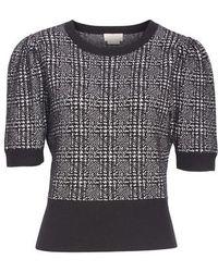 Kate Spade - Mod Plaid Sweater - Lyst