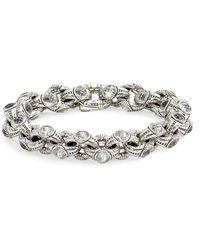 Konstantino - Pythia Crystal Chain Link Bracelet - Lyst