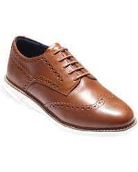 Cole Haan - Grandevolution Shortwing Oxford Sneaker - Lyst