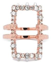 Alexis Bittar | Elements Rectangle Ring | Lyst