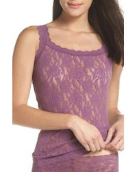 Hanky Panky - 'signature Lace' Camisole - Lyst