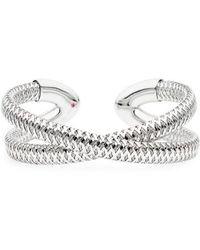 Roberto Coin - Primavera 18k Gold Cuff Bracelet - Lyst