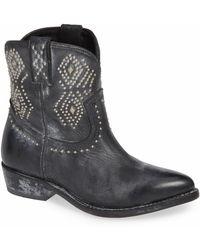 Frye - Billy Stud Short Western Boot - Lyst