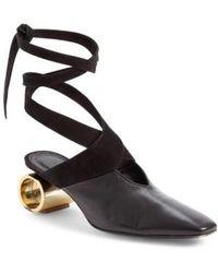 JW Anderson - Cylinder Heel Ballet Slide - Lyst