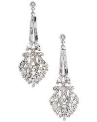 Ben-Amun - Crystal Drop Earrings - Lyst