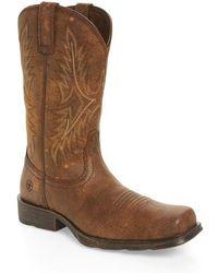 Ariat - Western Rambler Cowboy Boot - Lyst