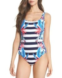 Tommy Bahama - Palms Of Paradise Reversible One-piece Swimsuit - Lyst
