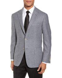 Hickey Freeman - Classic Fit Wool & Cashmere Blazer - Lyst