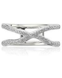 Monica Vinader | Riva Diamond Ring | Lyst