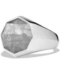 David Yurman - 'meteorite' Signet Ring - Lyst