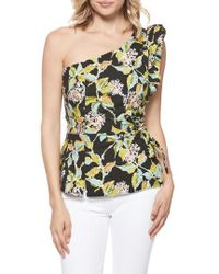 PAIGE - Cantina One-shoulder Top - Lyst