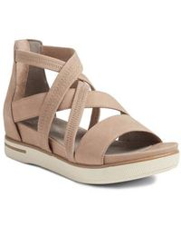 Eileen Fisher - Skill Strappy Sandal - Lyst