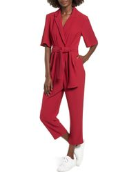 The Fifth Label - Chemistry Belted Jumpsuit - Lyst