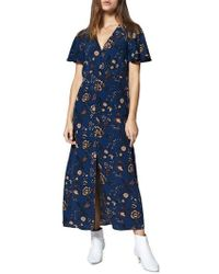 Sanctuary - Faithful Floral Maxi Dress - Lyst