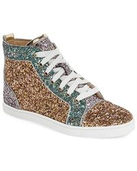 mens replica christian louboutin shoes - Shop Women's Christian Louboutin Sneakers | Lyst