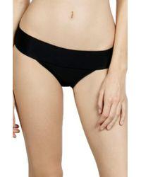 Volcom | Simply Solid Modest Bikini Bottoms | Lyst