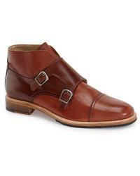 Boga - Double Monk Strap Boot - Lyst