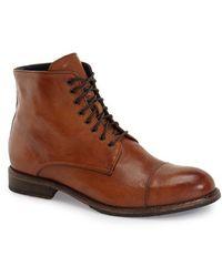 Boga - 'union' Cap Toe Boot - Lyst