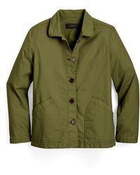 J.Crew - Garment-dyed Chino Swing Jacket - Lyst