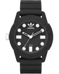 adidas Originals - 'adi-1969' Silicone Strap Watch - Lyst