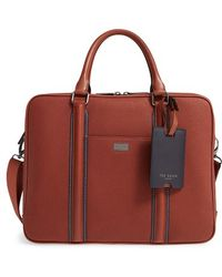 Ted Baker - 'snowdor' Document Bag - Lyst