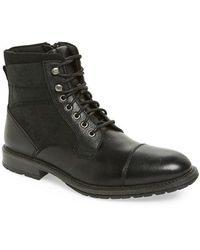 The Rail - 'blast' Cap Toe Boot - Lyst