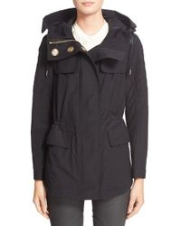 Burberry Brit - Parkfield Hooded Cotton-Blend Jacket - Lyst