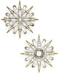 BaubleBar - 'north Star' Crystal Brooches (set Of 2) - Lyst