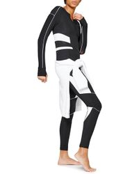 Ivy Park - Biker Colorblock Full Length Bodysuit - Lyst