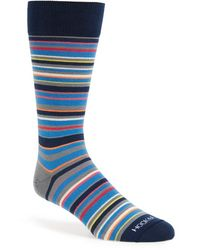 Hook + Albert - Stripe Socks - Lyst