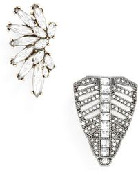 BaubleBar - 'ivy' Brooches (set Of 2) - Lyst