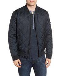 Marc New York - By Andrew Marc Fletcher Quilted Bomber Jacket - Lyst