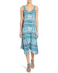 Ella Moss - 'bella' Stretch Jersey Midi Dress - Lyst