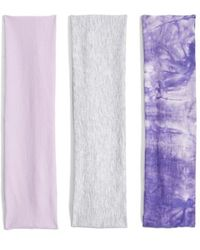 Berry - Stretchy Head Wraps - Purple (set Of 3) - Lyst