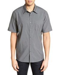 Cova - 'pensacola' Regular Fit Short Sleeve Sport Shirt - Lyst
