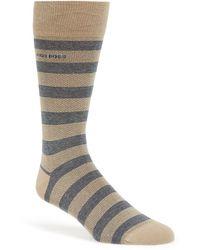 BOSS - 'rs Design' Stripe Socks - Lyst